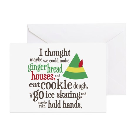 elf_movie_quote_greeting_cards_pk_of_10