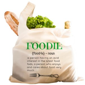 foodie_definition_reusable_shopping_bag