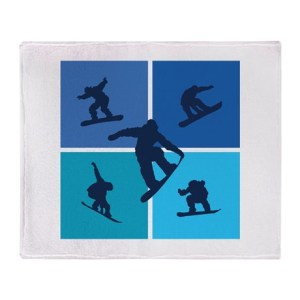 nice_various_snowboarding_throw_blanket